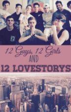 12 Guys 12 Girls and 12 Lovestorys by baespinosa77