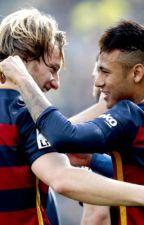 Anchors { Neymar Jr & Ivan Rakitic } by TessaWlt
