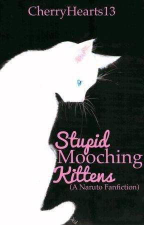 Stupid Mooching Kittens by CherryHearts13