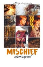 mischief managed  ✘  fred weasley by solemnlyswearing