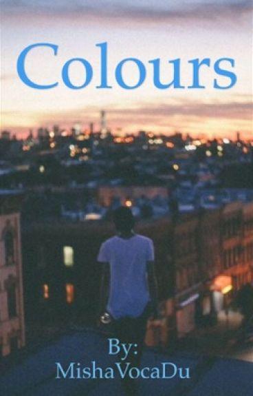 Colours- Destiel/Sabriel - Pastel!Dean x punk!cas