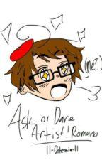 """""""Ask/Dare Artist!Romano"""" by ll-Ortensia-ll"""
