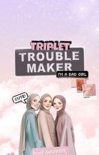Triplet Troublemaker by AdielaNash
