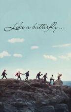 like a butterfly... 🦋  by z_army_mintaekook