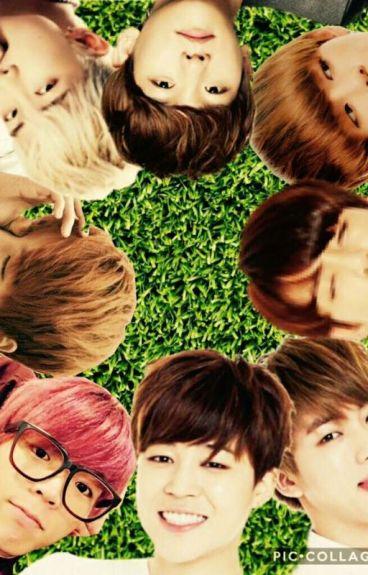 Flower Boy Café [BTS X Reader]