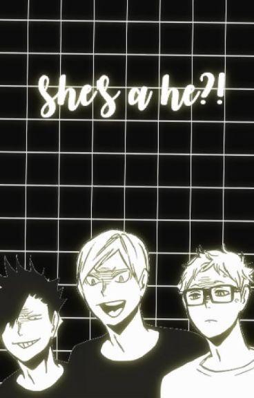 shes a he?! ❀ haikyuu various x reader