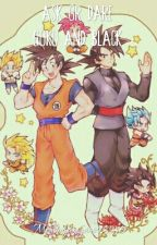 Ask Or Dare Goku And Black [ON HOLD] by MockingjayGamer12345