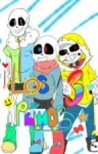 ¡Los Tres Primos! [Sweet, Kiseki Y Misaki] [Universos Alternos Undertale] by AndyGaliNeko07