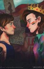 Can you be my nightingale? -Larry- Texting by xinyourarmss