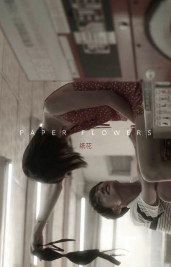 paper flowers+chanbaek