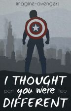 I Thought You Were Different: Part 2 by imagine-avengers