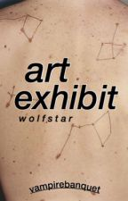Art Exhibit | Wolfstar AU by vampirebanquet