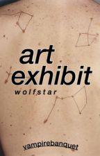 Art Exhibit   Wolfstar AU by vampirebanquet