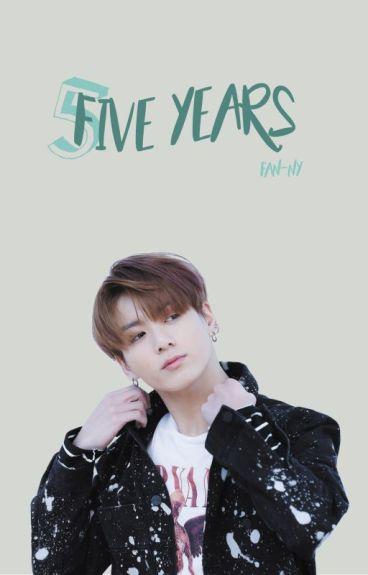 Five years [Jungkook x Reader]
