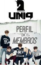 UNIQ - Perfil dos Membros by natiele_ramos