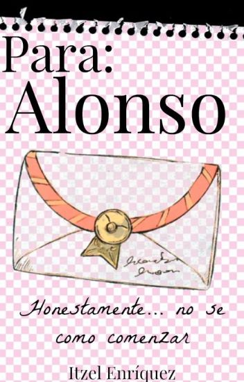 """Para Alonso"" → A.V ←"