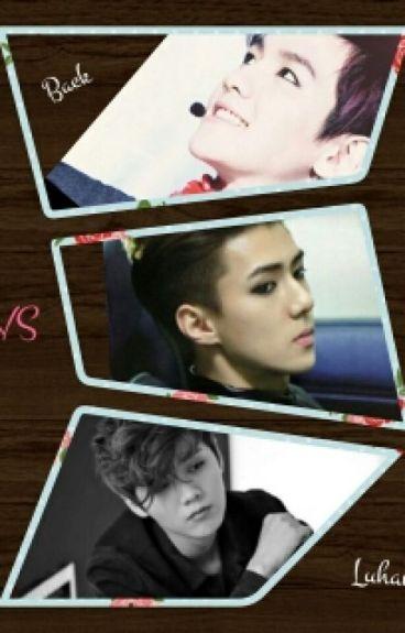 Baekhyun  VS Luhan    (el es mio)