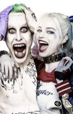 Harley Quinn and the Joker by Leigh24689