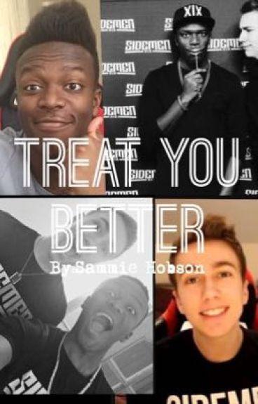 Treat You Better |KSIMON and Sidemen FF|