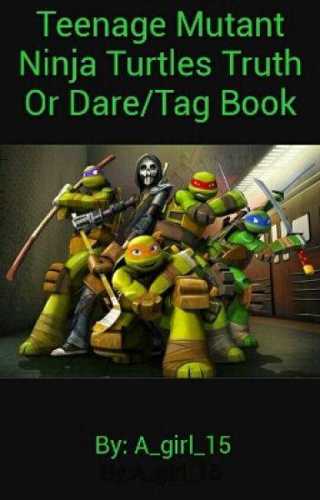 Teenage Mutant Ninja Turtles Truth Or Dare Tag Book