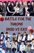 Battle for the Thrones: SNSD VS EXO (Exoshidae) by iamappleng