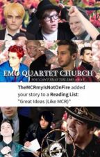 The Emo Quartet Church of Trash by The_Criminal_N2