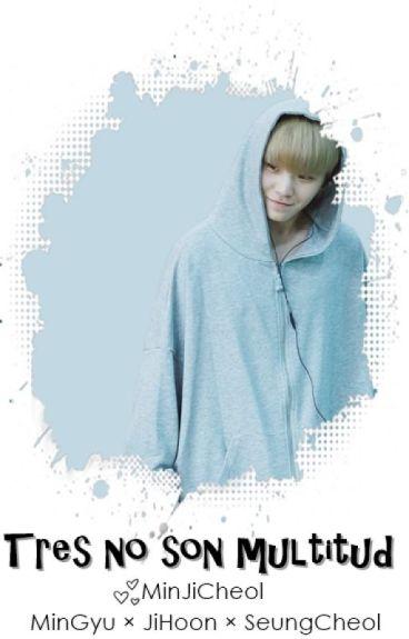 'Tres no son multitud' - MinGyu × JiHoon × SeungCheol ♥ Adaptación [Lemon]