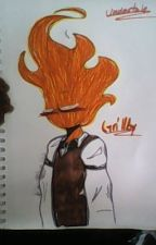 Fire and Ice (Grillby X Abused Reader) by RinLee1221