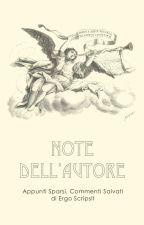 Note dell'autore by ergoscripsit