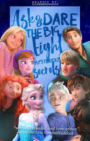 Ask And Dare The Big Eight- Mysterious secrets [ON HOLD] by xXFandom_Geek_NerdXx