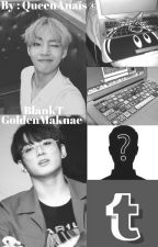 BlankT and GoldenMaknae • TaeKook by QueenAnais