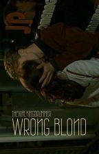 Wrong Blonde + hemmings by thewalkingdrummer