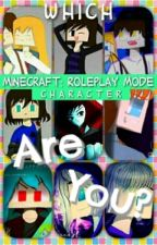 Which MCRPM Character Are You? by MCRPM4thewin