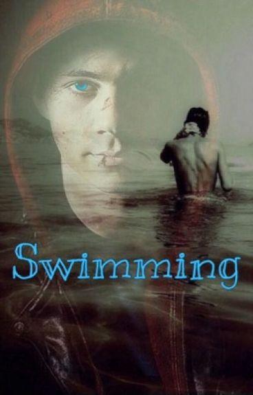 Swimming// Stiles Stilinski