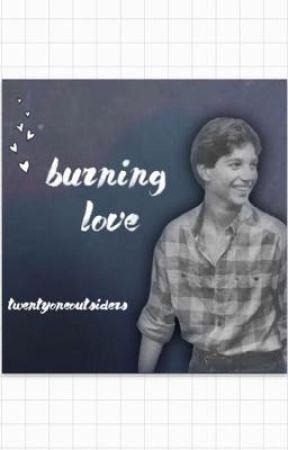 burning love ,, johnny cade love story by twentyoneoutsiders