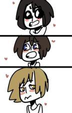 ¿Que es Esta Emocion? FNAFHS [FredxFreddyxGolden] by Fandumier
