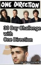 30 Day Challenge with One Direction by directionerka34