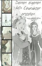 Deinen eigenen Harry Potter Charakter erstellen ( weiblich )  by blacksecret1508