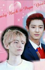 Baby Baek & Papa Yeollie(H.I.A.T.U.S) by Kim_Cherry_Oh