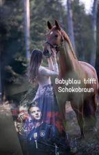 Babyblau trifft Schokobraun by Wolves0815
