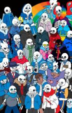 Too Many Sanses (Undertale au sans x goddess reader) by XXXRainbowGlitterXXX