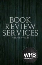 Book Review Services *Closed* by HelpServices