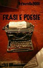 FRASI E POESIE  by nutella3000