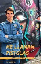 Me Llaman Pistolas (Àlex Márquez) by Bells93-96
