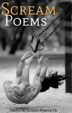 Scream Poems by Mix_My_Mars