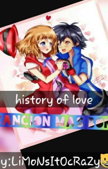 Ash Y Serena En History Of Love La Cancion Mas Bonita
