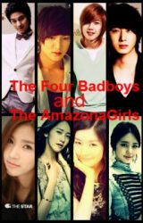 The Four BadBoys and The Four Amazona Girls by blacklilysecret
