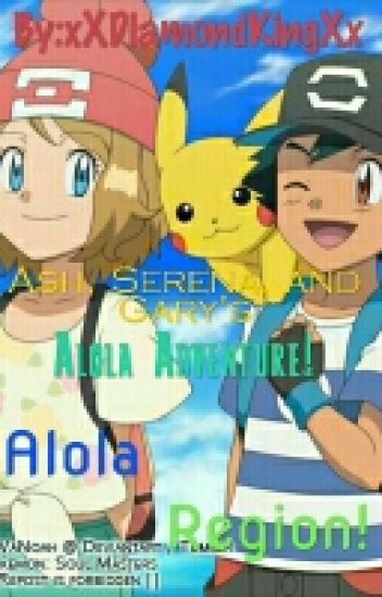 Journey to Alola!(AmourShipping)