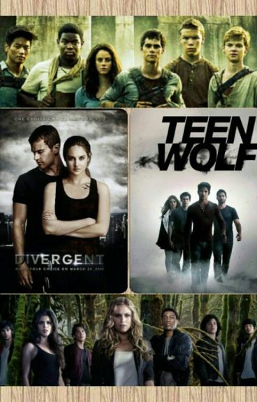 Imagine Teen Wolf - The 100- Le Labyrinthe- Divergente