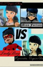 LadyBug Vs Miss Fortune. (Tn_) Vs Marinette. 《Chat Noir Y Tu》→Editando← by maria_neko_sama